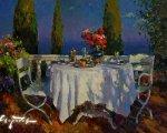 Вечерние тени (2014, 50x70см, холст, масло)