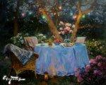 Праздничный вечер (2014, 80x100см, холст, масло)