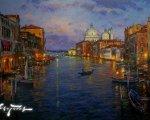 Гранд канал  (Венеция, 2013, 80x100см, холст, масло)
