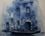 Венеция (2014, бумага, акварель)