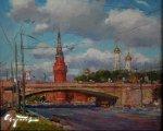 Москва (2010, холст, масло)