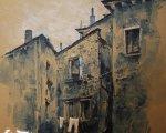 Стены Венеции (2012, бумага, акварель, белила)